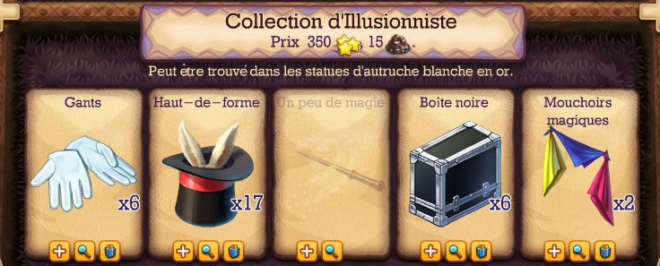 collection illusionniste