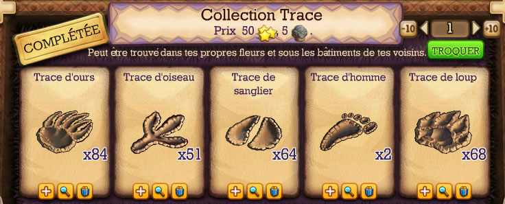collection trace