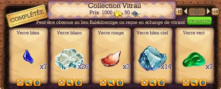 collection vitrail