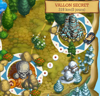 emplacement vallon secret