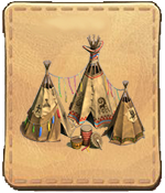 Menu wigwam cadeau Grand Lac